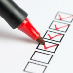 Holiday Checklist for common ailments and injuries