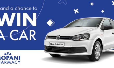 WIN A CAR with Mopani Pharmacy