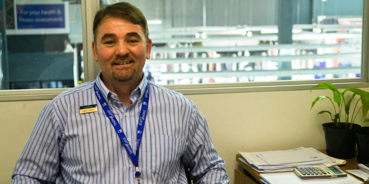 Re-introducing: Jaco Venter, Mopani Pharmacy Dispensary Executive